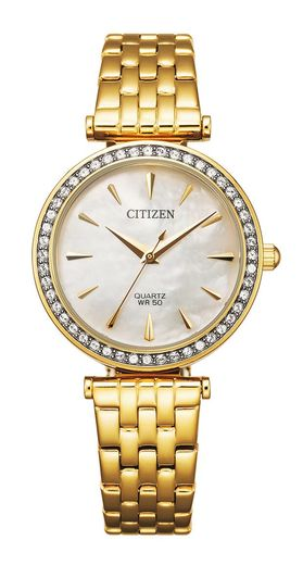 Citizen quartz ladies, kullanvärinen teräs