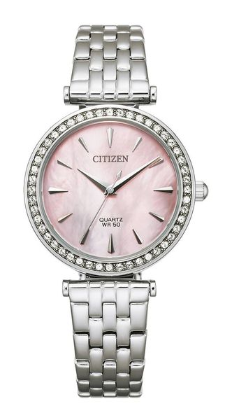 Citizen quartz ladies, teräs